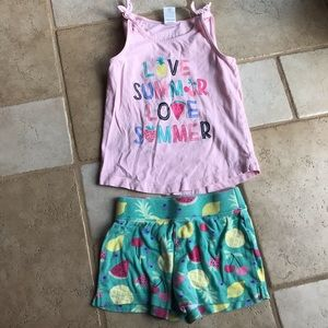 Gymboree girls summer outfit 5